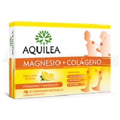 AQUILEA MAGNESIO + COLÁGENO (30 comprimidos masticables)