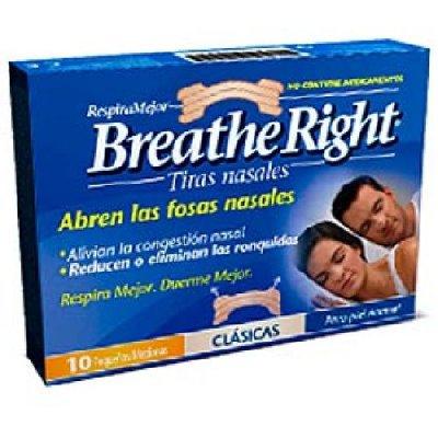 Breathe Ringht Tiras Nasales Grandes, 30Ud