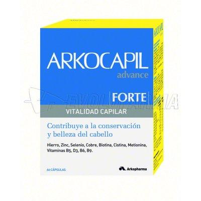ARKOCAPIL ADVANCE FORTE CÁPSULAS. 60 cápsulas