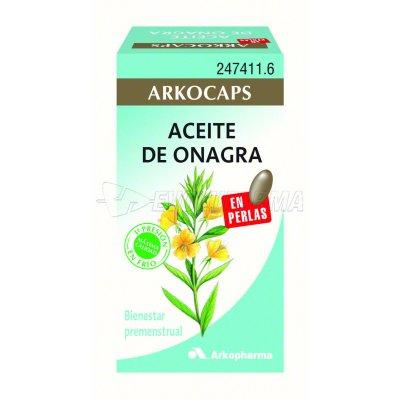 ARKOCAPSULAS ACEITE DE ONAGRA. 50 cápsulas