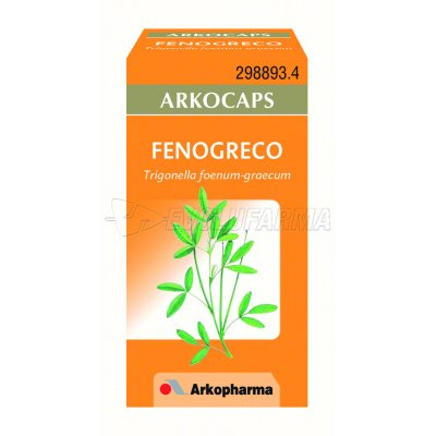 ARKOCAPSULAS FENOGRECO. 50 cápsulas