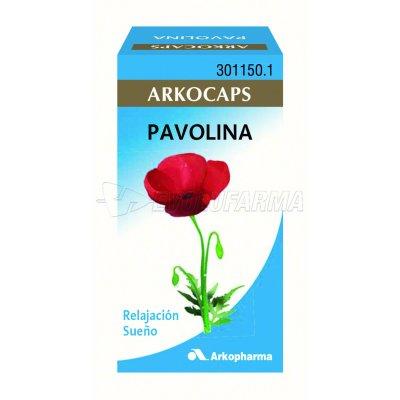 ARKOCAPSULAS PAVOLINA. 48 cápsulas