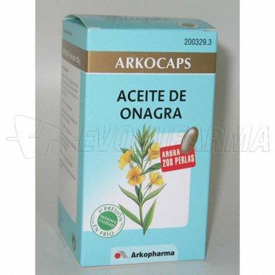 ARKOCAPS ACEITE DE ONAGRA. Envase 200 Cápsulas