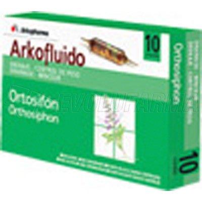 ARKOFLUIDO ORTOSIFON. 20 ampollas