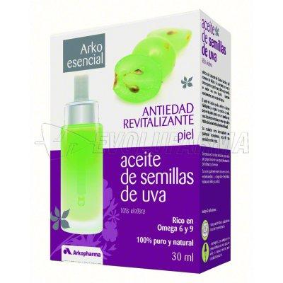 ARKO ESENCIAL ACEITE DE SEMILLAS DE UVA. 30 ml.