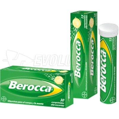 BEROCCA PERFORMANCE FRUTOS ROJOS. 30 omprimidos Efervescentes