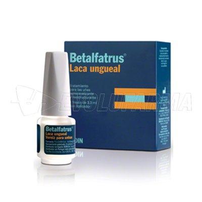 BETALFATRUS LACA UNGUEAL. Frasco 3,3 ml.