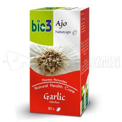 BIO3 AJO NATURCAPS. 80 cápsulas de 500 mg.