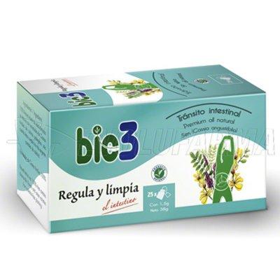 BIO3 REGULA Y LIMPIA. 25 bolsitas de 1,5 gr.