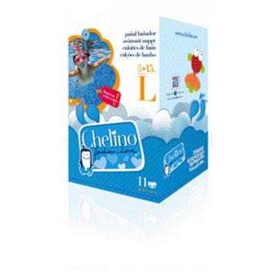 CHELINO FASHION & LOVE PAÑAL BAÑADOR INFANTILTALLA M 5- 9kg, 12 Pañales