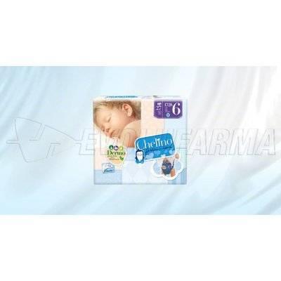 CHELINO FASHION & LOVE PAÑAL INFANTIL TALLA 6 (17- 28 KG),  27 Pañales