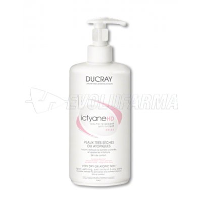 DUCRAY ICTYANE HD BÁLSAMO RELIPIDANTE ANTI-IRRITANTE. 400 ml