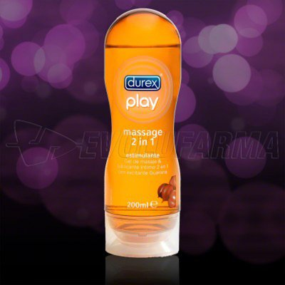 DUREX PLAY GEL DE MASAJE ESTIMULANTE. 200 ml