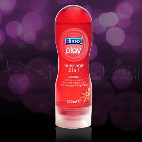 DUREX PLAY GEL DE MASAJE SENSUAL. 200 ml