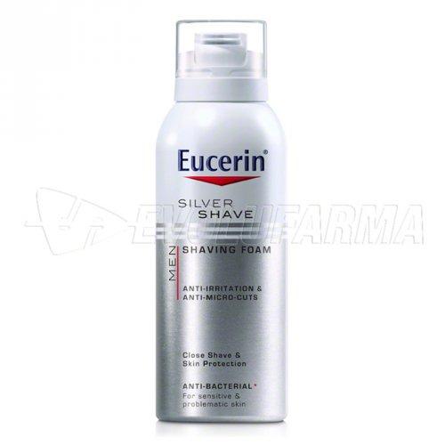 EUCERIN MEN SILVER SHAVE ESPUMA DE AFEITAR. Envase de 150 ml.