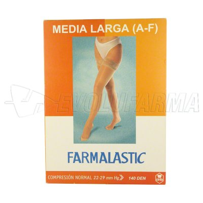 FARMALASTIC MEDIA LARGA CON BLONDA COMPRESIÓN NORMAL TALLA EXTRA GRANDE COLOR C