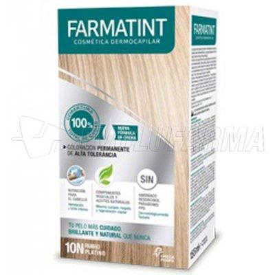 FARMATINT NUEVA FÓRMULA TINTE NATURAL. 10N Rubio platino