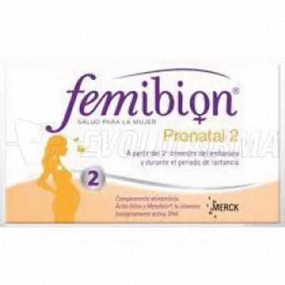 FEMIBION PRONATAL 2. 30 Comprimidos + 30 Cápsulas.