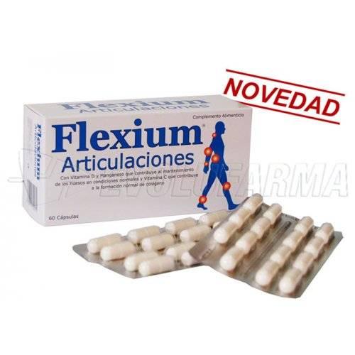FLEXIUM ARTICULACIONES, 60 cápsulas