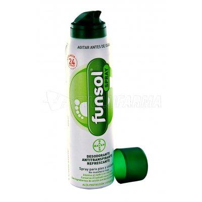 FUNSOL SPRAY PIES. Spray de 150 ml