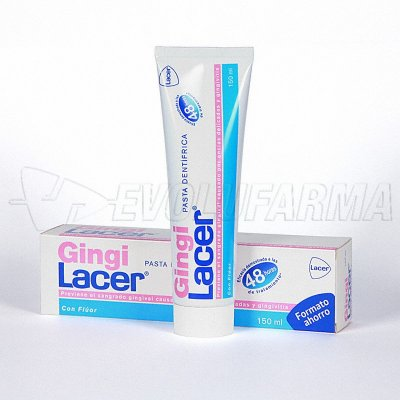 GINGILACER PASTA DENTÍFRICA. Tubo 150 ml.