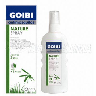GOIBI ANTIMOSQUITOS NATURE SPRAY. 100 ml.
