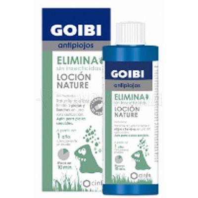 GOIBI ANTIPIOJOS ELIMINA LOCION NATURE. 200 ml.