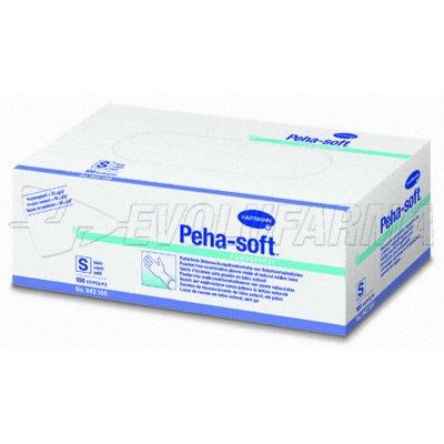 HARTMANN PEHA-SOFT LATEX. 100 uds. Talla S (6-7).