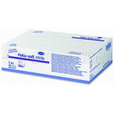 HARTMANN PEHA-SOFT NITRILO. 100 uds. Talla M (7-8).