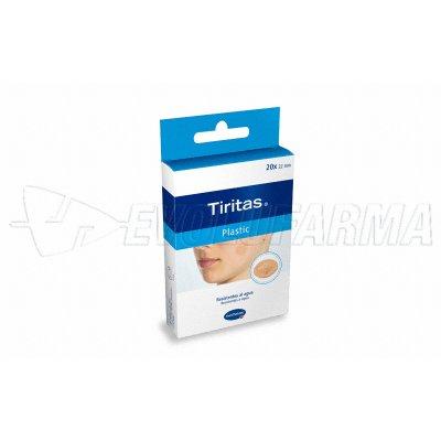 HARTMANN TIRITAS PLASTIC. 20 uds. redondas de 22 mm.