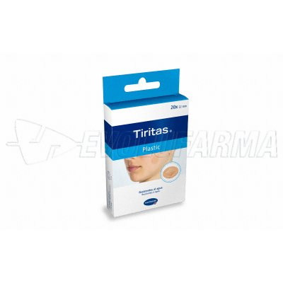 HARTMANN TIRITAS PLASTIC. 30 uds. de 2 tamaños.