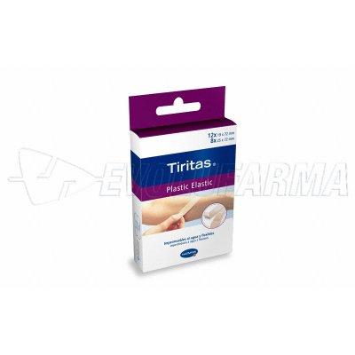 HARTMANN TIRITAS PLASTIC ELASTIC. 20 uds. (19 x 72 mm y 25 x 75 mm).