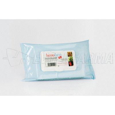 HEMOFARM PLUS TOALLITAS. 60 toallitas húmedas.