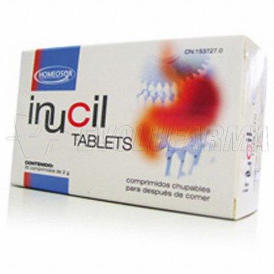HOMEOSOR INUCIL TABLETS. 30 comprimidos de 2 g.