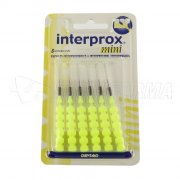 INTERPROX MINI. Cepillos Interdentales. 6 Uds.