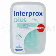 INTERPROX PLUS MICRO. Cepillos Interdentales. 10 Uds.