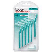 LACER (EXTRAFINO ANGULAR )CEPILLO INTERDENTAL, 6U