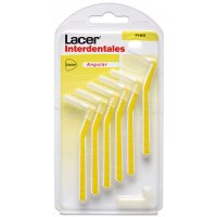 LACER (FINO ANGULAR )CEPILLO INTERDENTAL, 6u