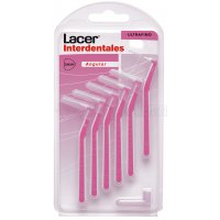 LACER (ULTRAFINO ANGULAR )CEPILLO INTERDENTAL, 6U