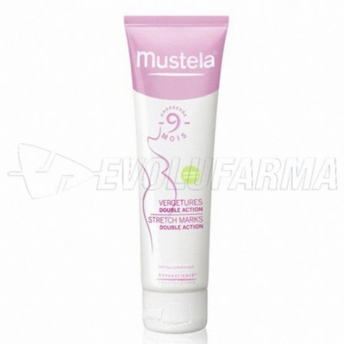 MUSTELA 9 MESES ANTIESTRÍAS DOBLE ACCIÓN. Tubo de 200 ml.