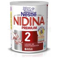 NESTLE. NIDINA 2 PREMIUM EN POLVO. Bote de 800 gr.