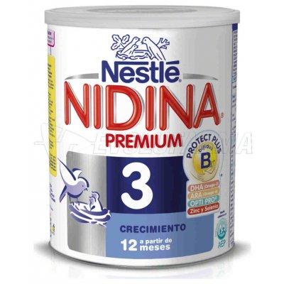NESTLE. NIDINA 3 PREMIUM. Bote de 800 gr.