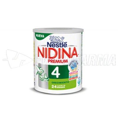 NESTLE. NIDINA 4 PREMIUM. Bote de 800 gr.