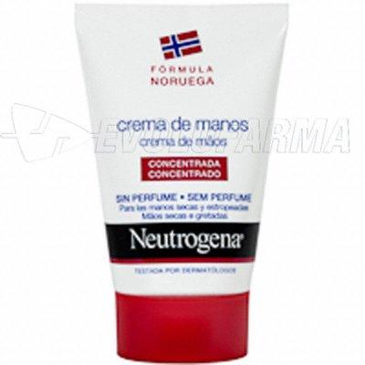 NEUTROGENA CREMA DE MANOS CONCENTRADA SIN PERFUME. 50 ml.