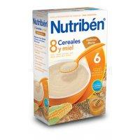 NUTRIBEN 8 CEREALES Y MIEL GALLETAS MARIA, 300g