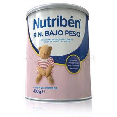 NUTRIBEN LECHE RN BAJO PESO, 400g
