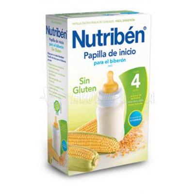 NUTRIBEN PAPILLA INICIO BIBERON SIN GLUTEN, 300g
