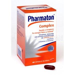 PHARMATON COMPLEX 60 + 30 CAPS BLANDAS