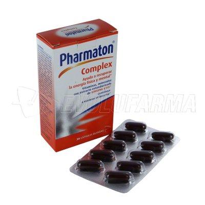 PHARMATON COMPLEX. Envase 30 Cápsulas.