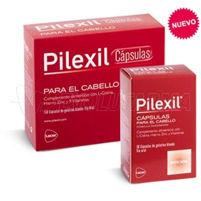 PILEXIL COMPLEMENTO NUTRICIONAL PARA CABELLO. Envase 150 Cápsulas.
